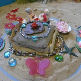 Юнгианская песочная терапия (Сэндплей) - пример песочной композиции